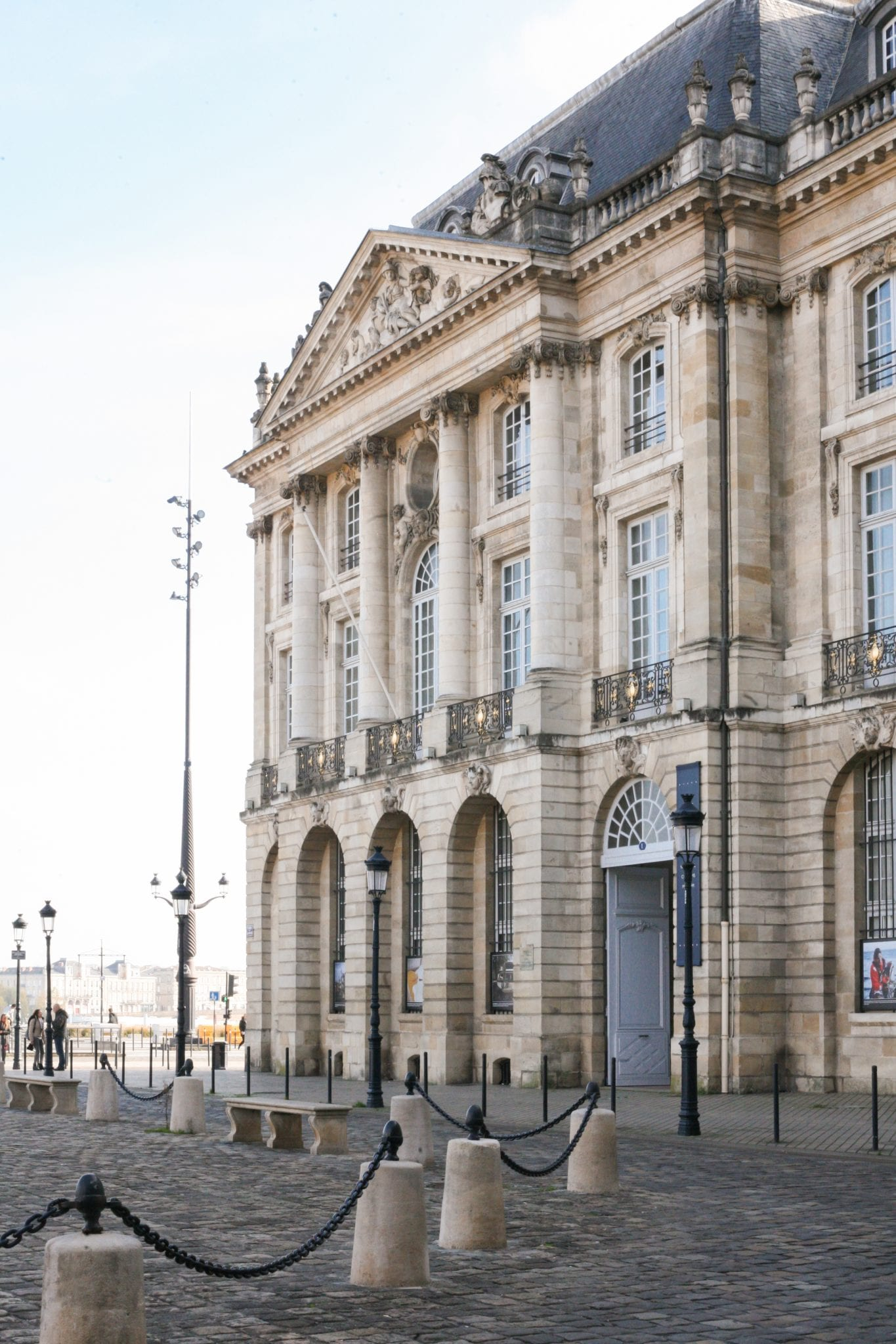 La place de la Bourse à Bordeaux