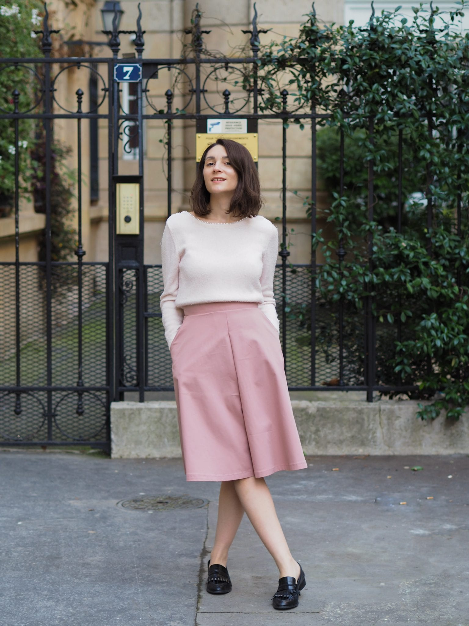 La jupe-culotte, hit du printemps ?