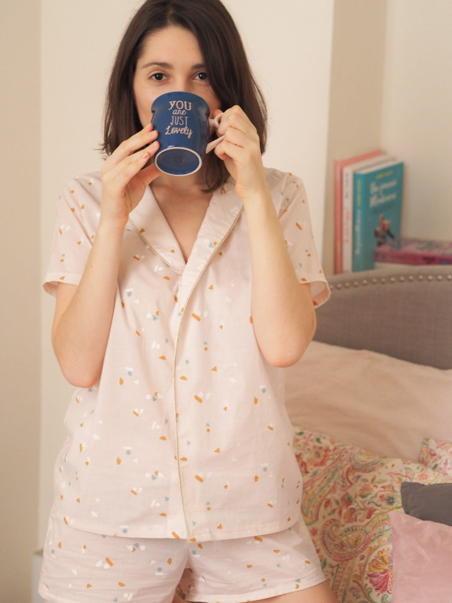 Coudre un pyjama court - tissu Atelier Brunette // Blog-mode-couture-estelle-some-place-called-home